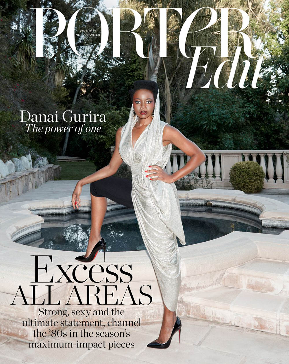 Danai Gurira covers Porter Edit April 26th, 2019 by Claire Rothstein