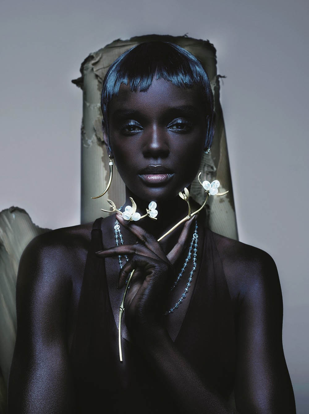 Duckie Thot by Nick Knight for British Vogue April 2019