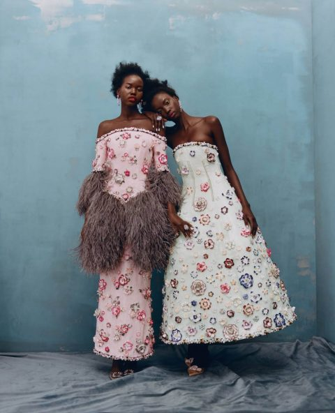 ''Fancy That'' by Tyler Mitchell for Vogue US April 2019