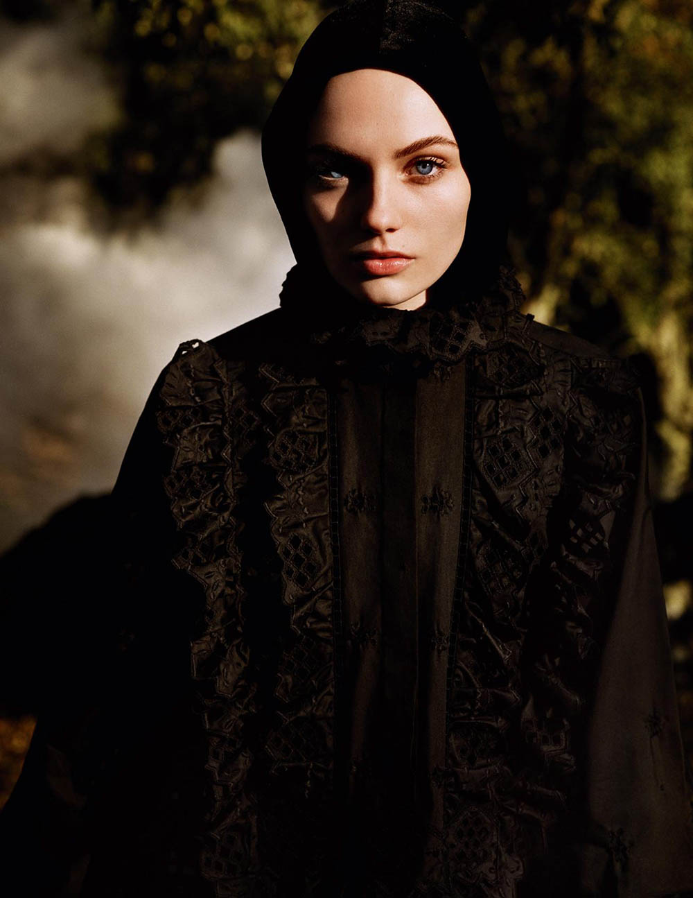 Fran Summers by Alasdair McLellan for Vogue Paris April 2019