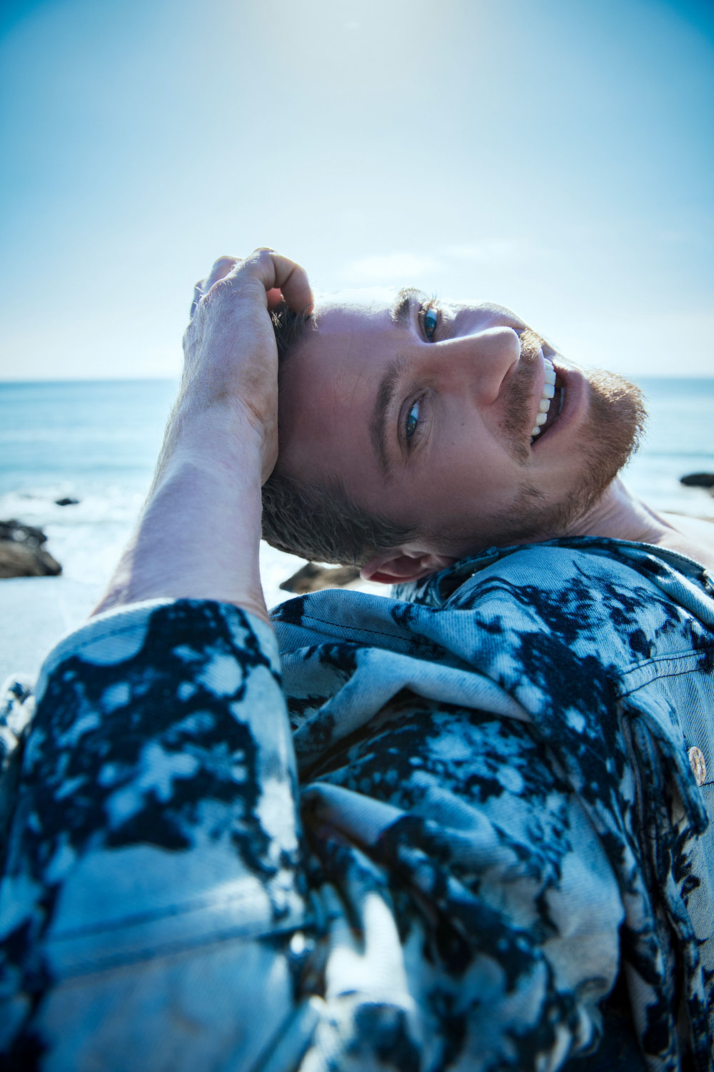 Garrett Hedlund covers Flaunt Magazine Issue 164 by Ian Morrison