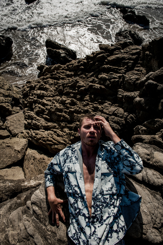 Garrett Hedlund covers Flaunt Magazine Issue 164 by Ian Morrison