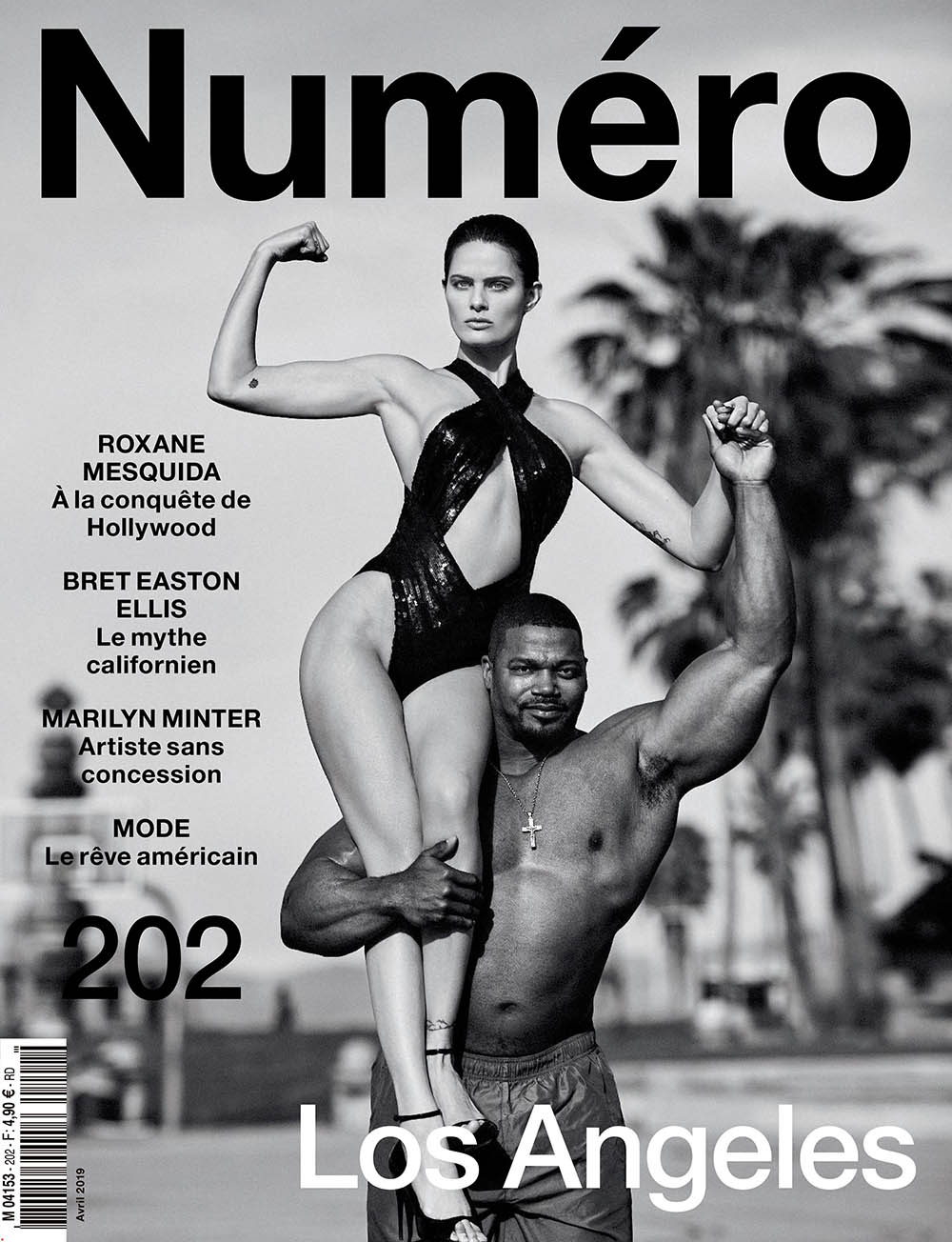 Isabeli Fontana covers Numéro April 2019 by Billy Kidd