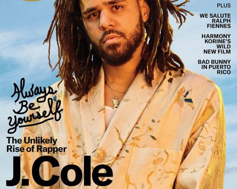 J. Cole covers GQ USA April 2019 by Awol Erizku