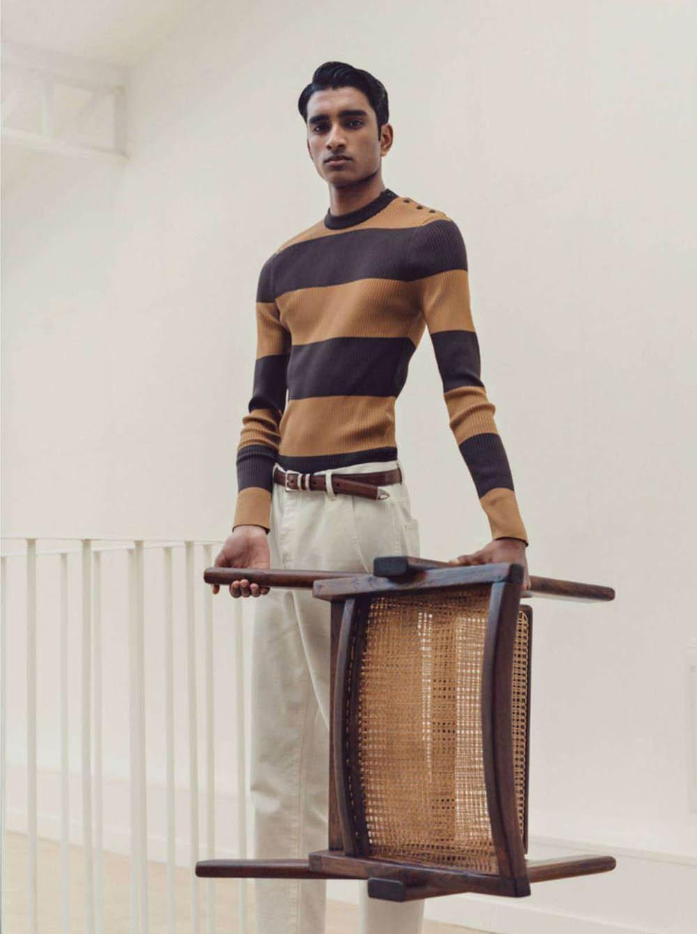 Jeenu Mahadevan by Dham Srifuengfung for GQ France April 2019