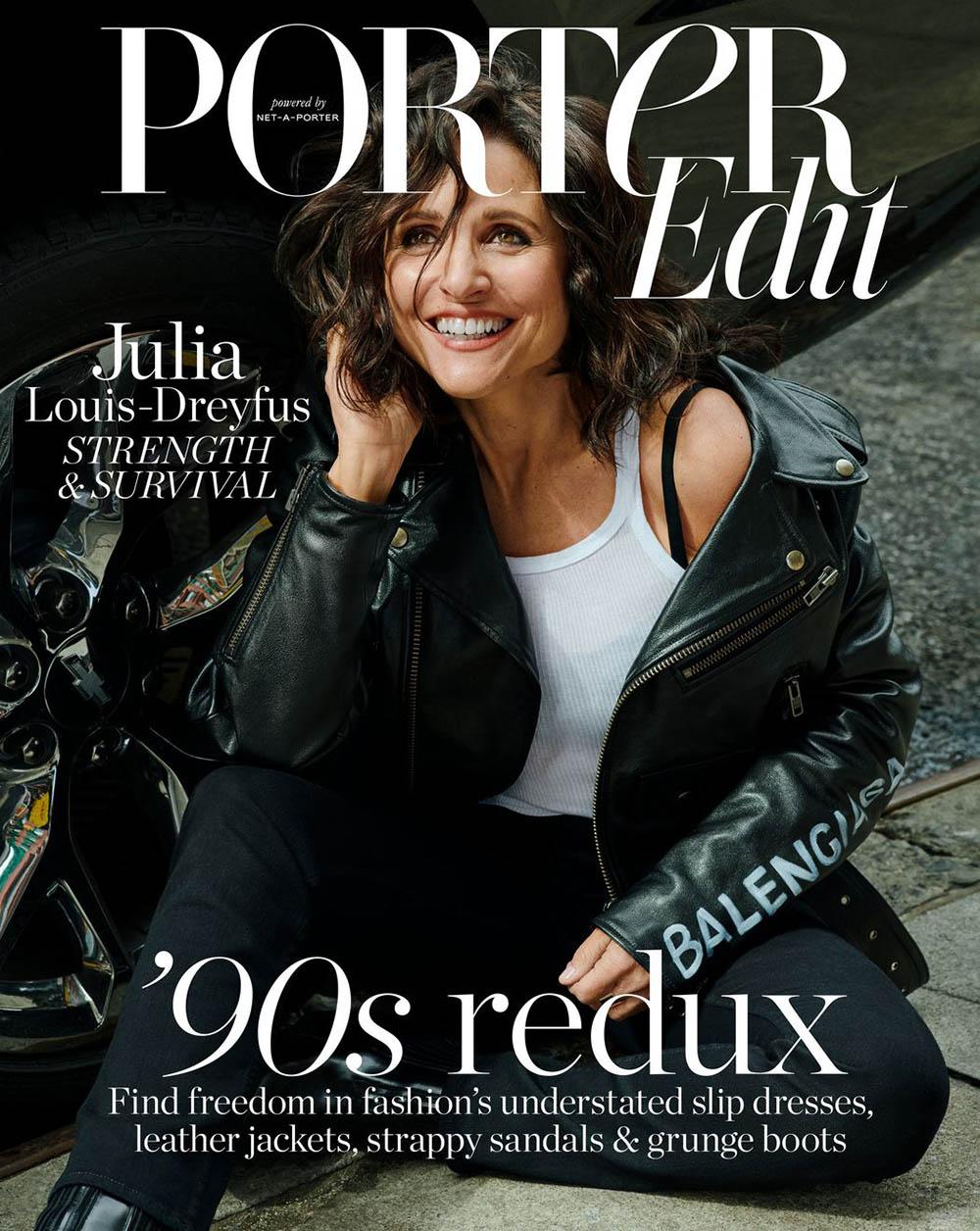 Julia Louis-Dreyfus covers Porter Edit April 19th, 2019 by Tiffany Nicholson