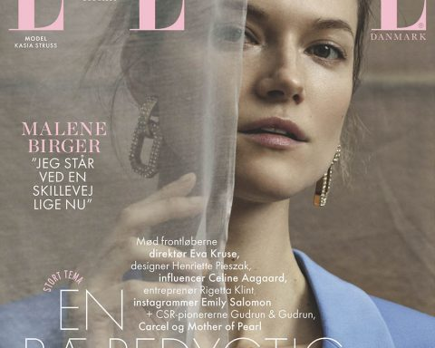 Kasia Struss covers Elle Denmark April 2019 by Marco van Rijt