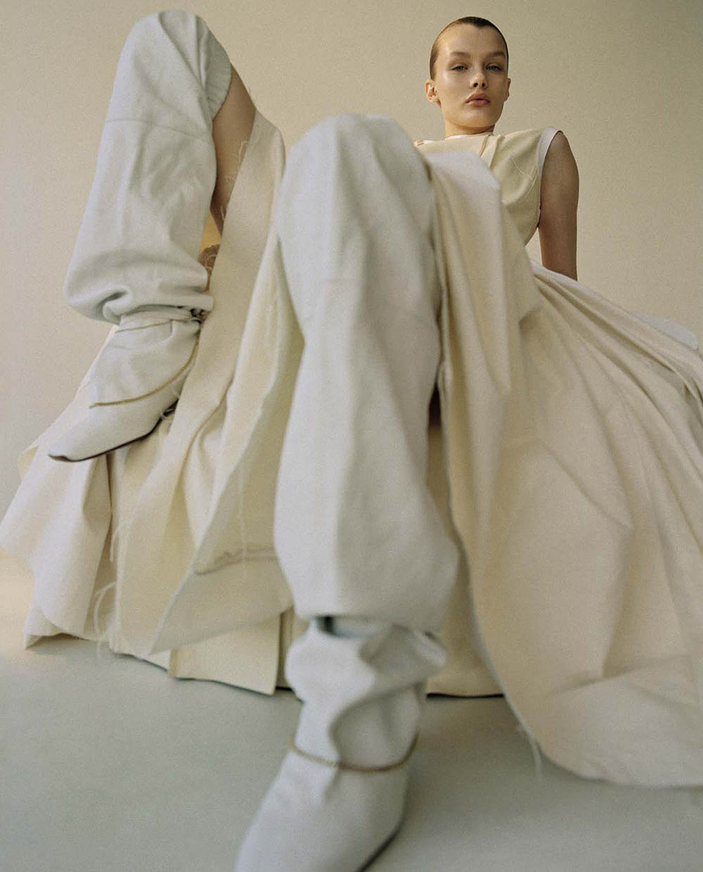 Kris Grikaite by Brianna Capozzi for Vogue Italia April 2019