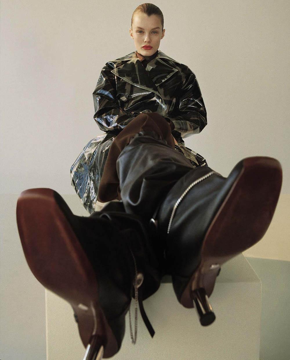 Kris Grikaite by Brianna Capozzi for Vogue Italia April 2019