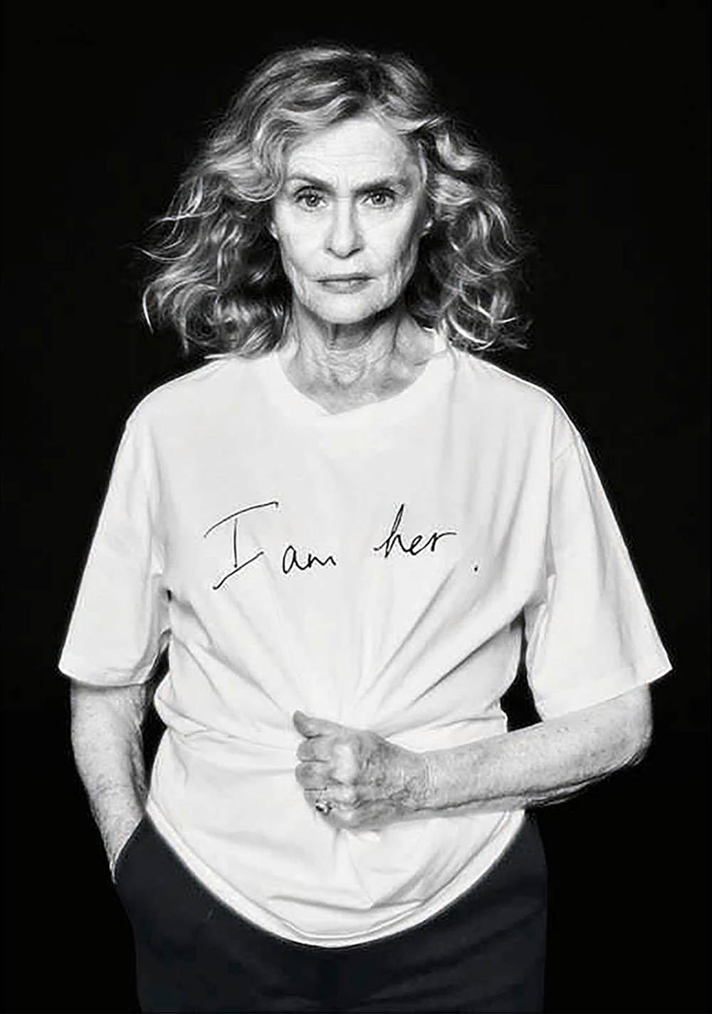 Lauren Hutton covers Porter Magazine Spring 2019 by Vanina Sorrenti