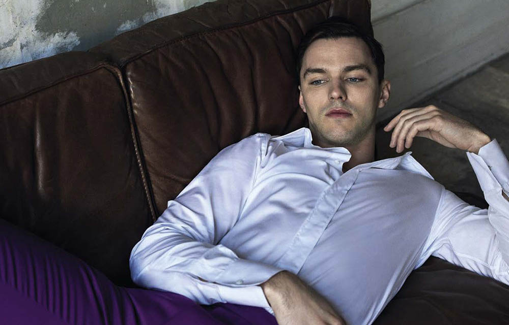 Nicholas Hoult covers GQ Italia April 2019 by Michelangelo di Battista