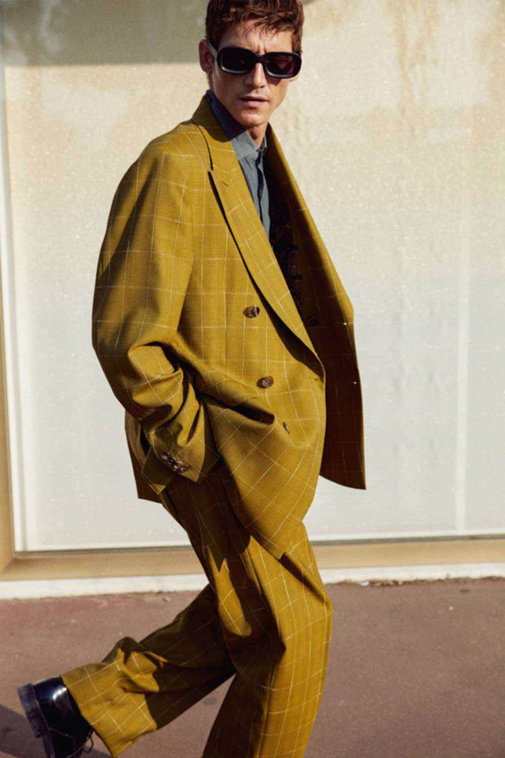 Roch Barbot by Markus Pritzi for GQ France April 2019