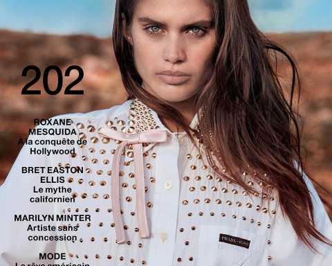 Sara Sampaio covers Numéro April 2019 by Hugh Lippe