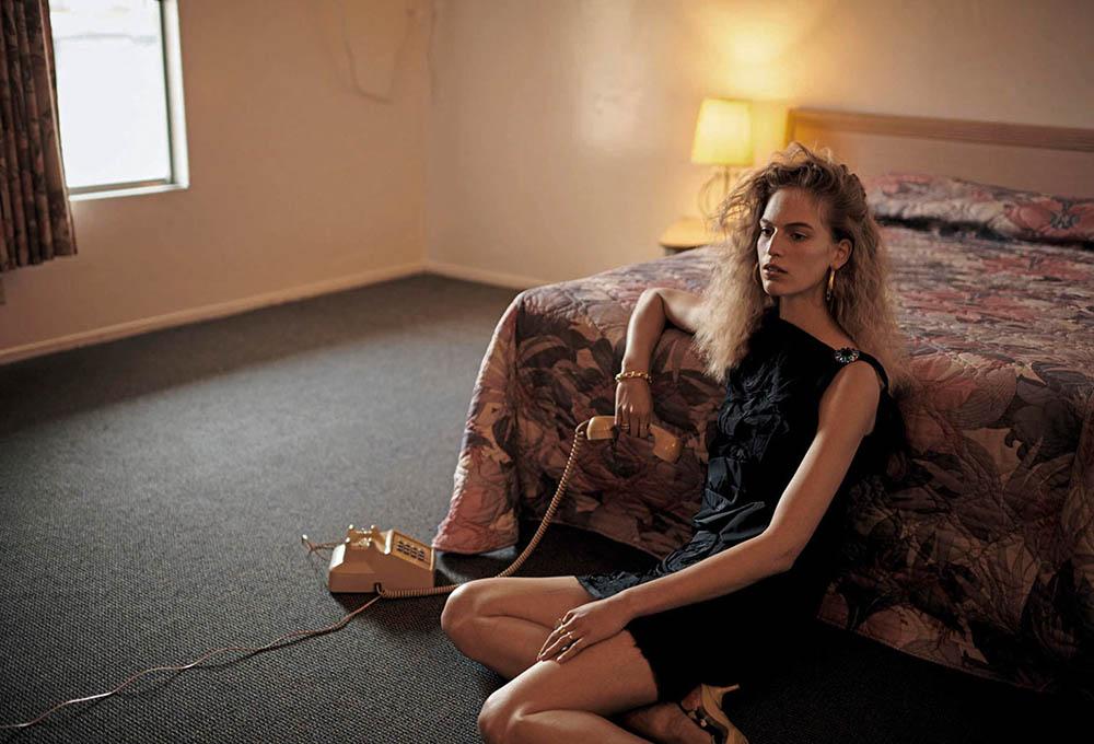 Vanessa Axente by Vincent van de Wijngaard for Porter Magazine Spring 2019