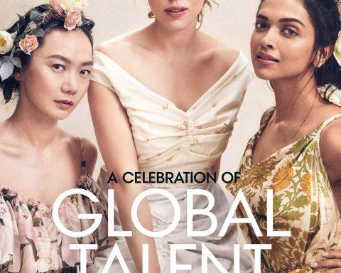 Vogue US April 2019 covers by Mikael Jansson