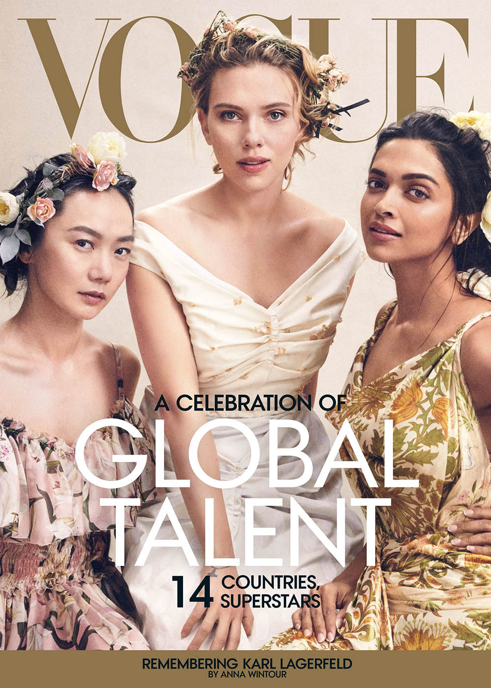 Vogue US April 2019 covers by Mikael Jansson