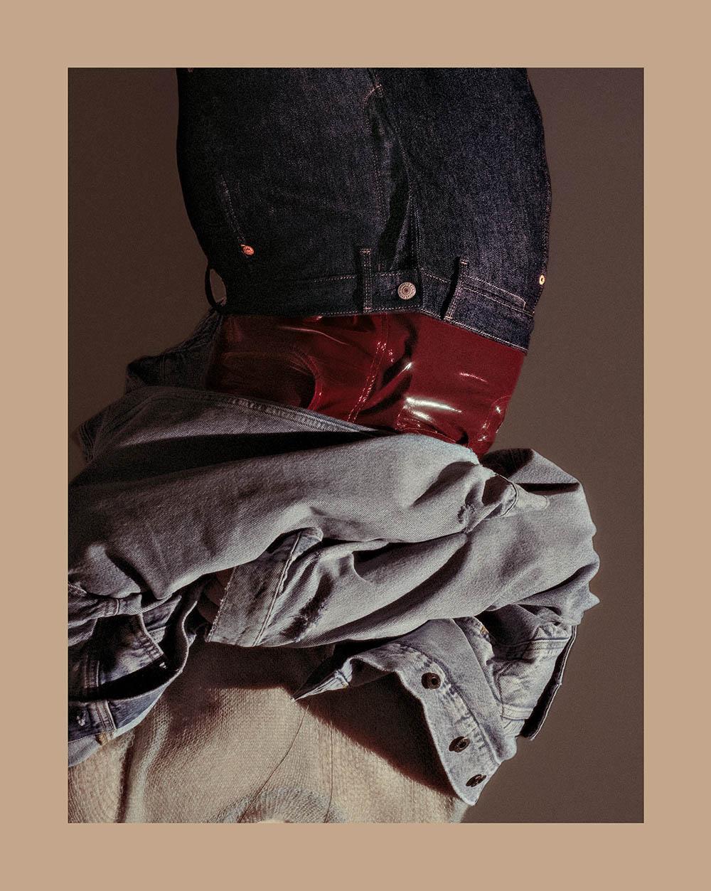 ''En Apesanteur'' by Pascale Arnaud for Citizen K Homme Spring 2019