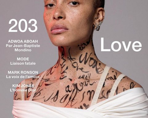 Adwoa Aboah covers Numéro May 2019 by Jean-Baptiste Mondino