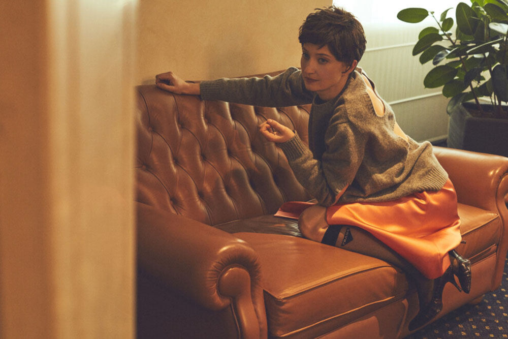Alba Rohrwacher covers Vogue Ukraine May 2019 by Stefano Galuzzi