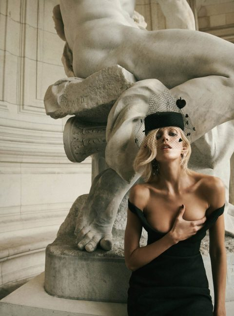 Anja Rubik by Lachlan Bailey for Vogue Paris May 2019