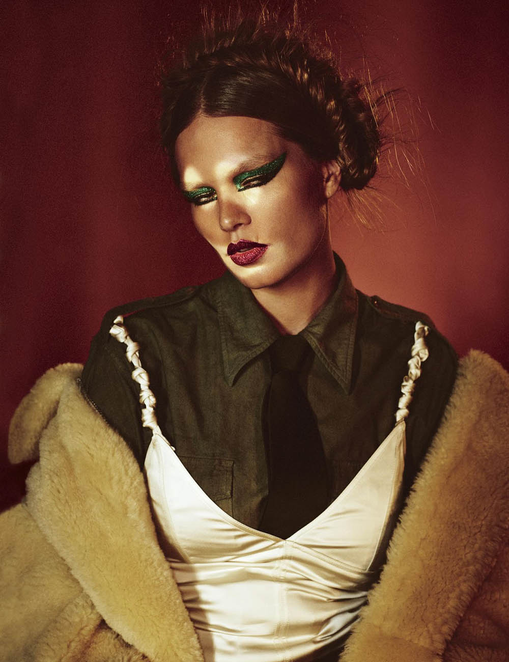 Anna Ewers by Mikael Jansson for W Magazine Volume 3 2019