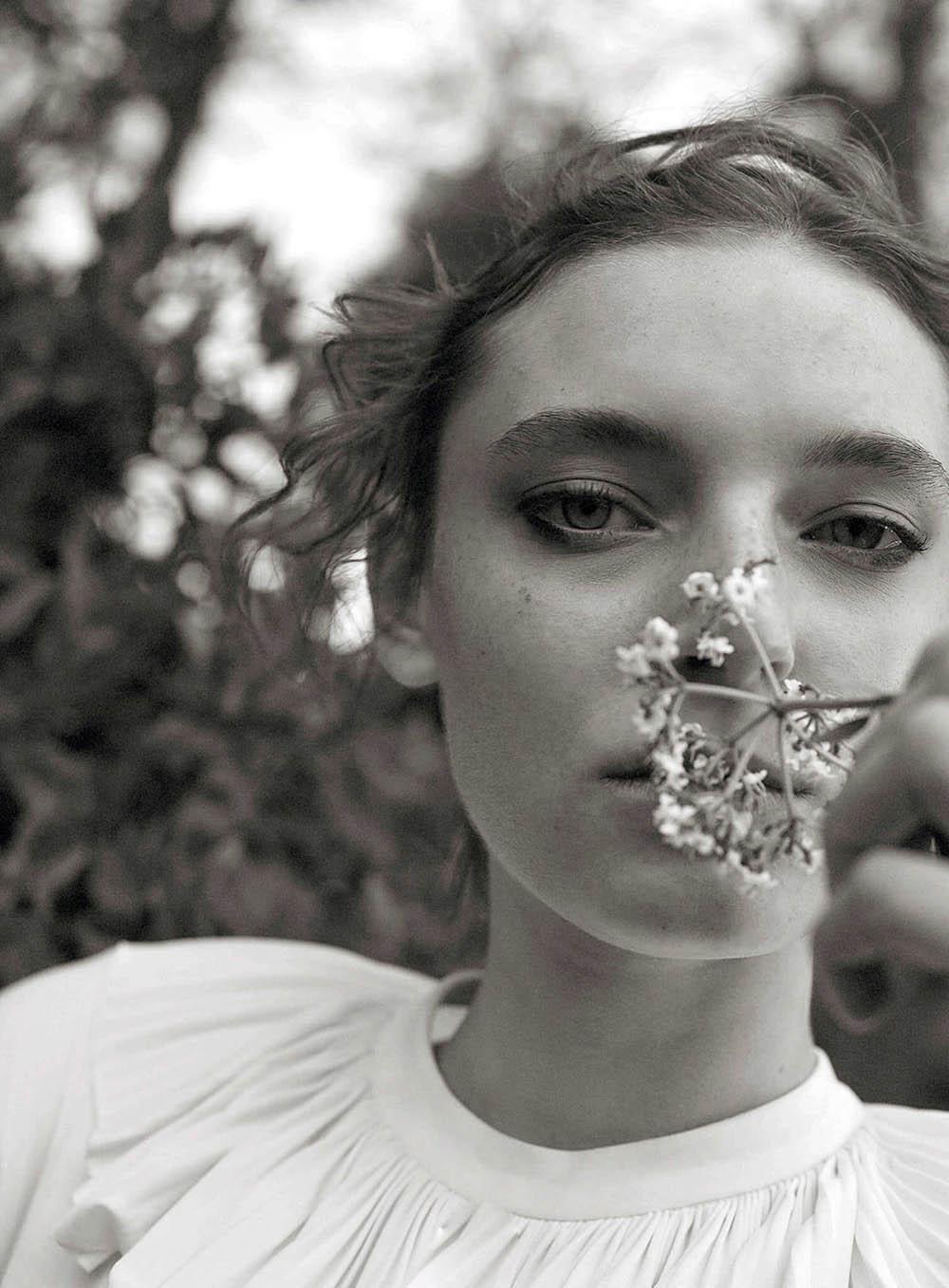 Ansley Gulielmi covers Vogue Turkey May 2019 by Wai Lin Tse