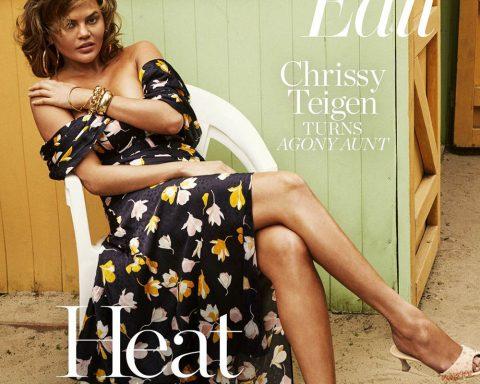 Chrissy Teigen covers Porter Edit May 24th, 2019 by Sebastian Kim