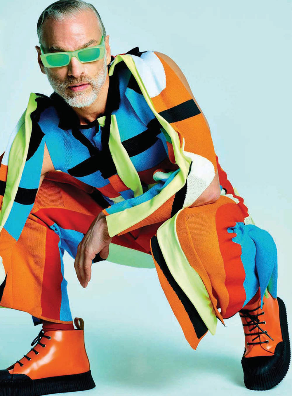 ''Daddy Cool'' by Philippe Vogelenzang for GQ Style China Spring Summer 2019