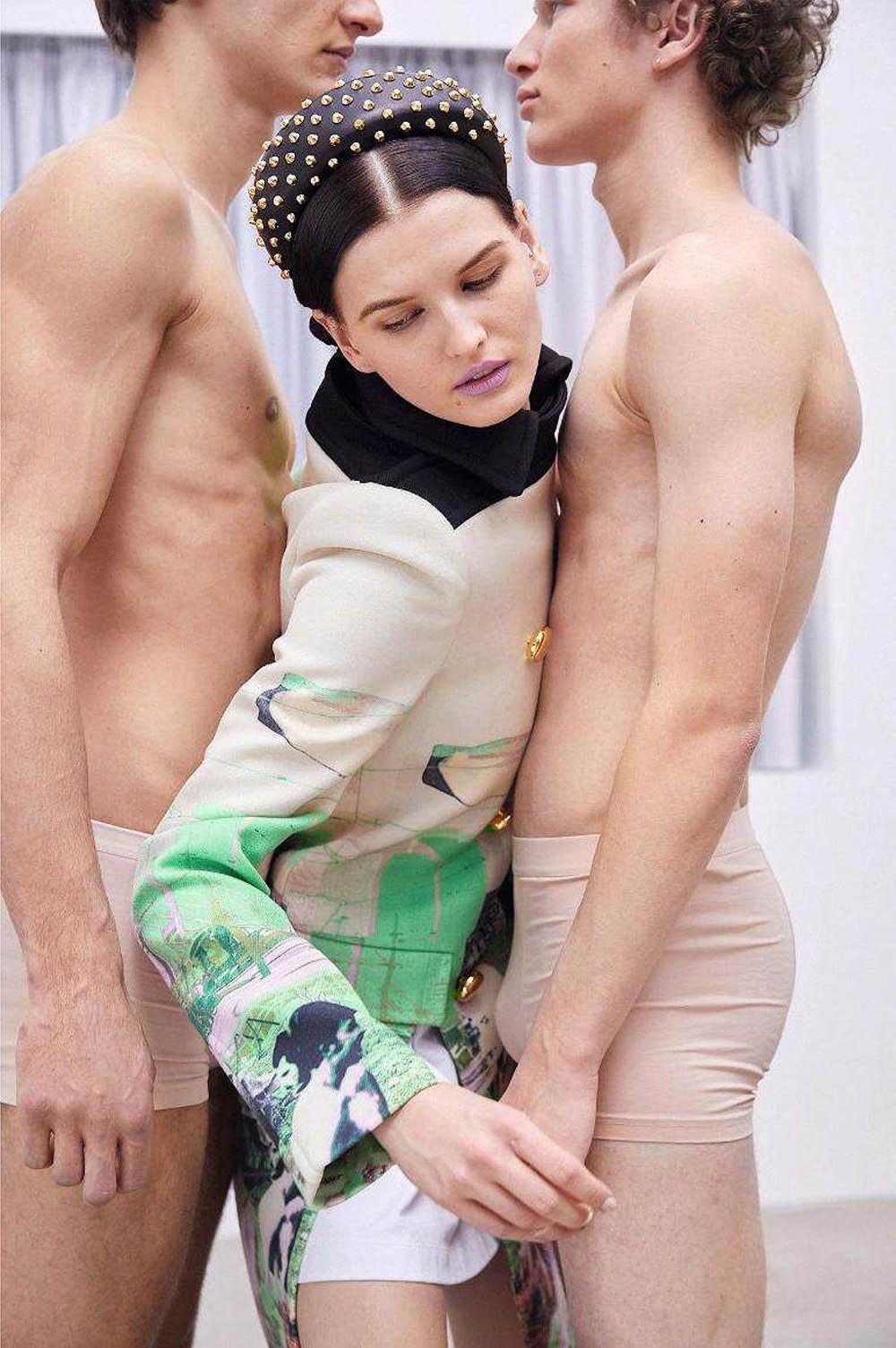 ''Die Feine Art'' by Johnny Kangasniemi for Harper's Bazaar Germany May 2019