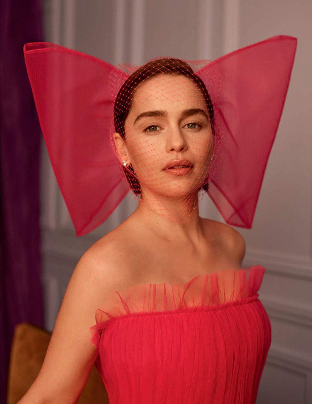 Emilia Clarke covers Vogue Spain May 2019 by Thomas Whiteside