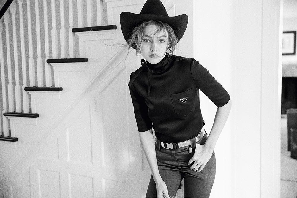 Gigi Hadid covers Vogue Czechoslovakia May 2019 by Helena Christensen
