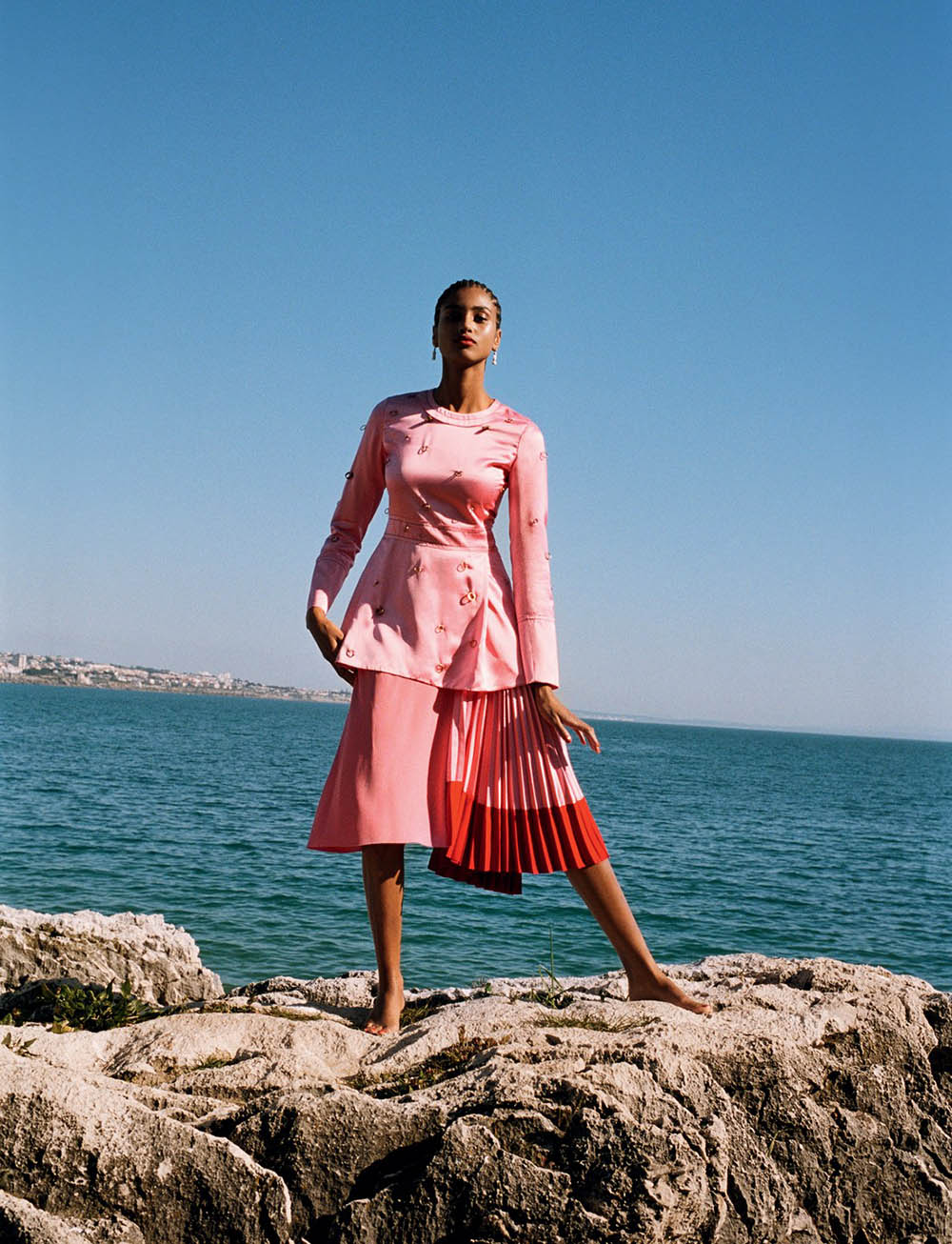 Imaan Hammam by Angelo Pennetta for British Vogue May 2019