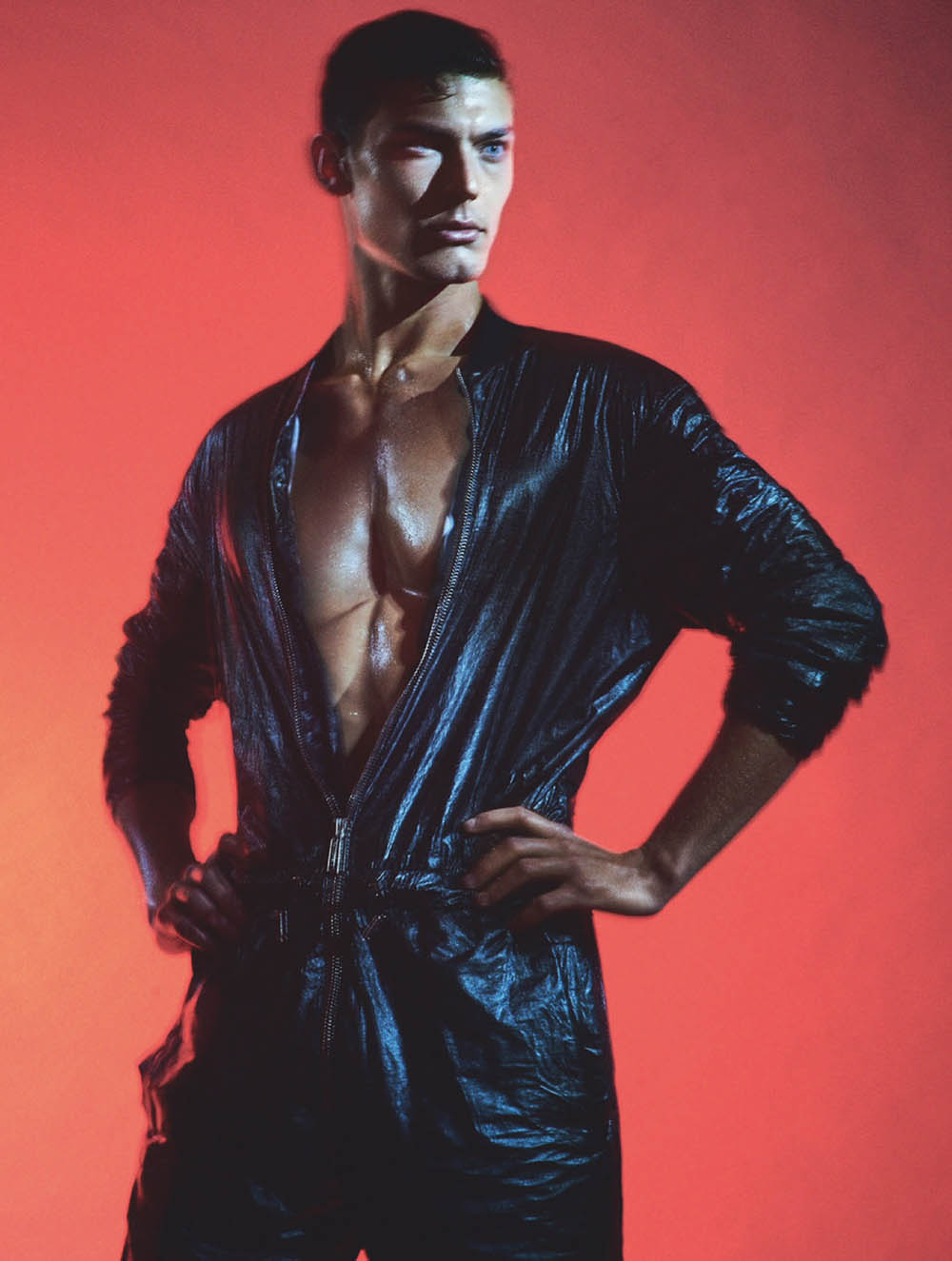 Jacob Hankin by Olivier Yoan for Attitude Magazine May 2019