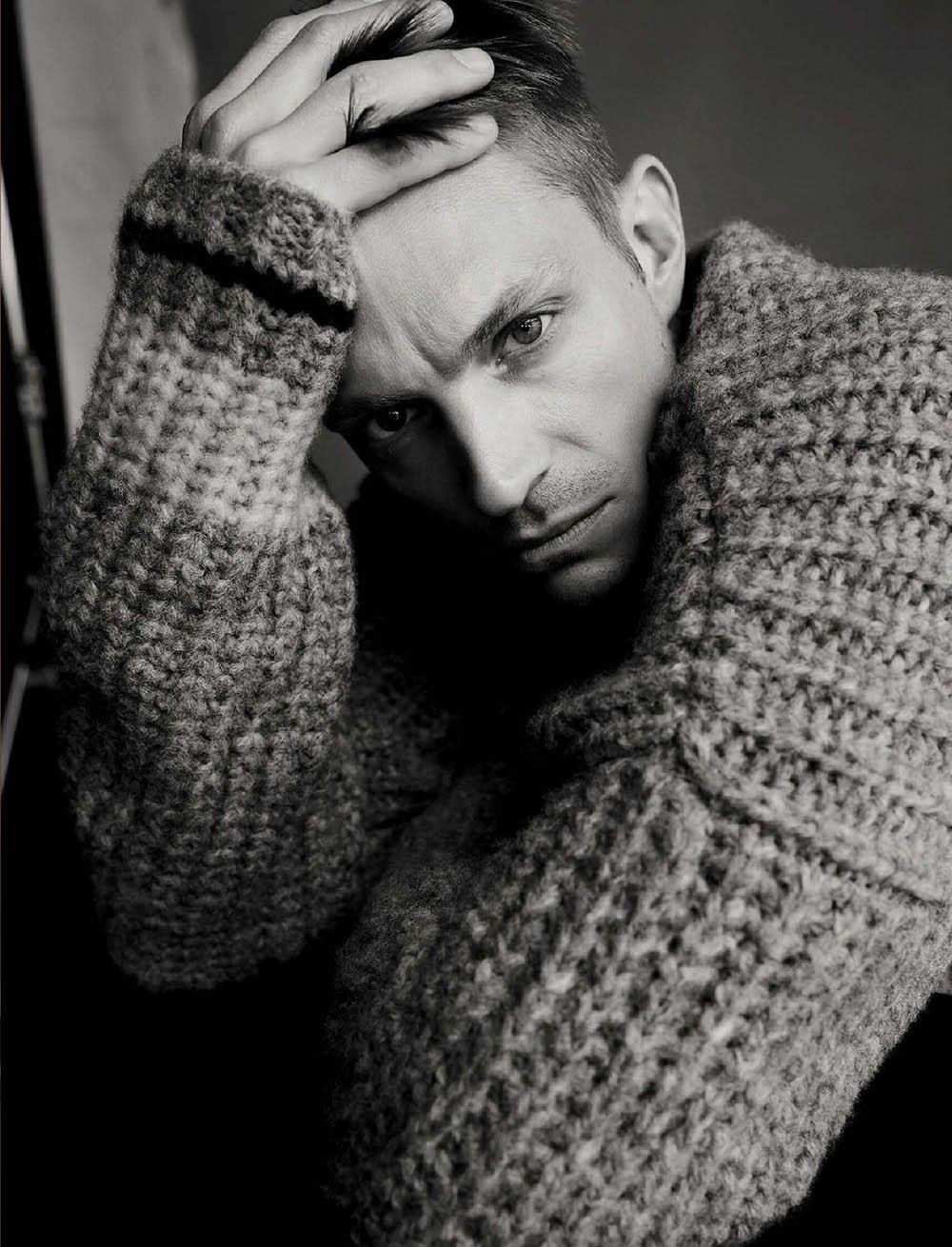 Joel Kinnaman covers L'Uomo Vogue May 2019 by Sølve Sundsbø