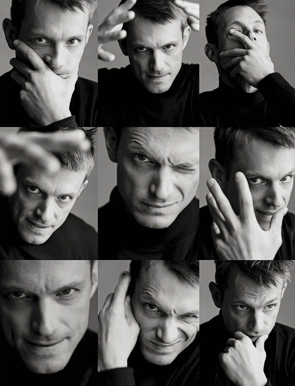 Joel Kinnaman covers L'Uomo Vogue May 2019 by Sølve Sundsbø