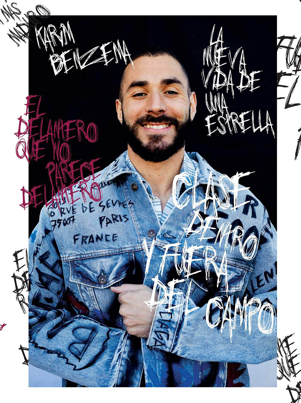 Karim Benzema covers GQ Spain May 2019 by Adria Canameras