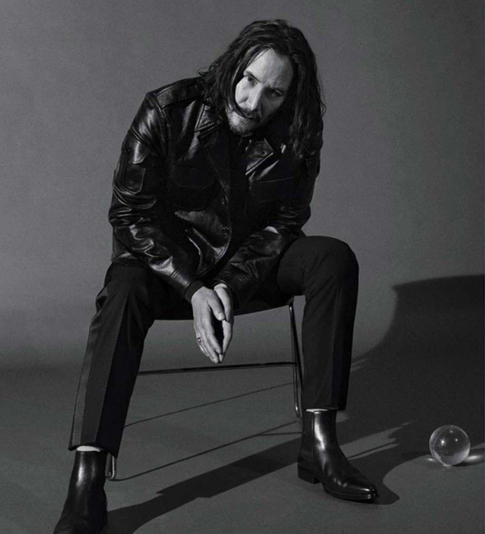Keanu Reeves covers GQ USA May 2019 by Daniel Jackson