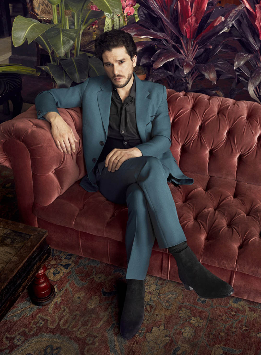 Kit Harington covers Esquire UK May 2019 by Alexi Lubomirski