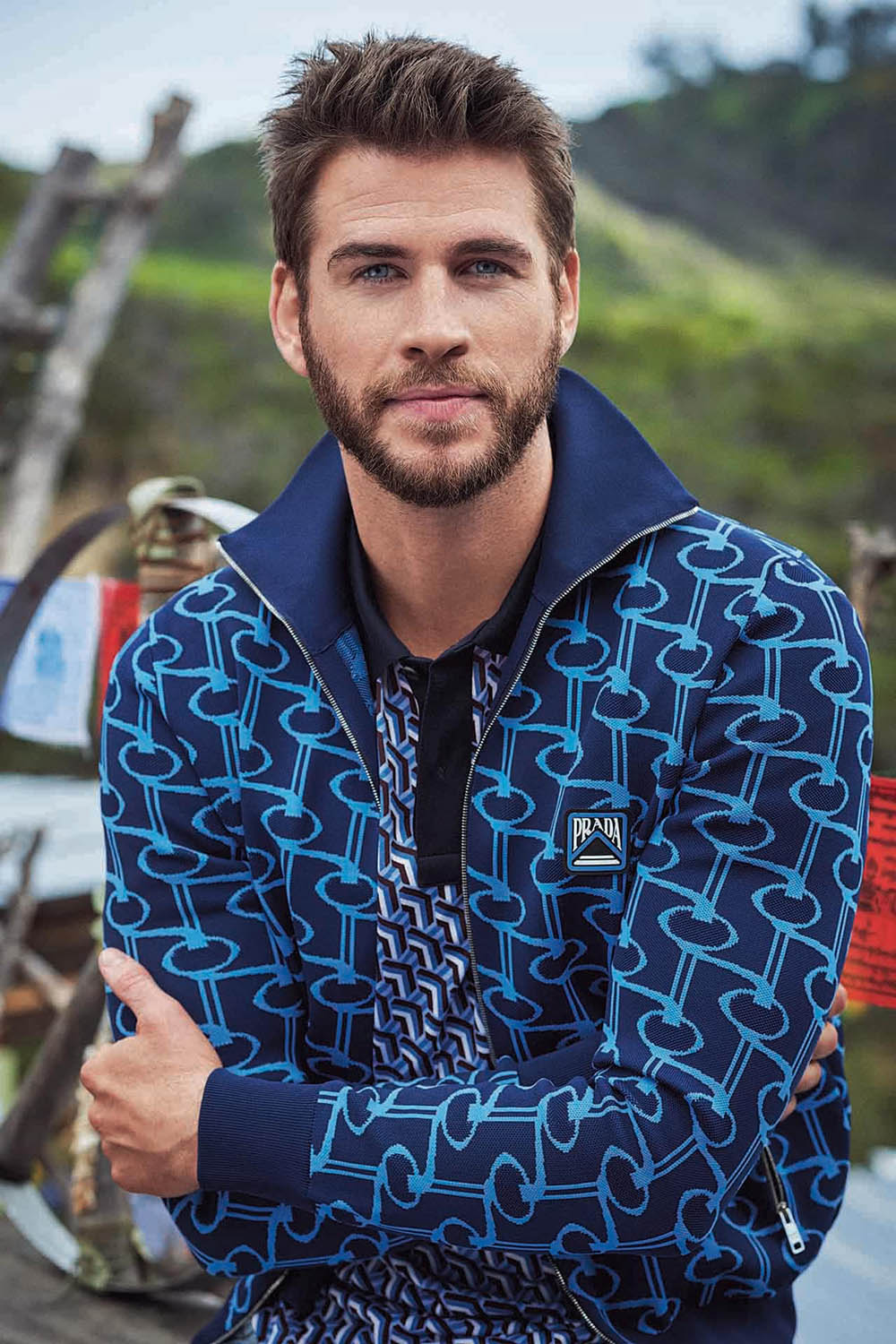 Liam Hemsworth covers GQ Australia May June 2019 by Carter Smith