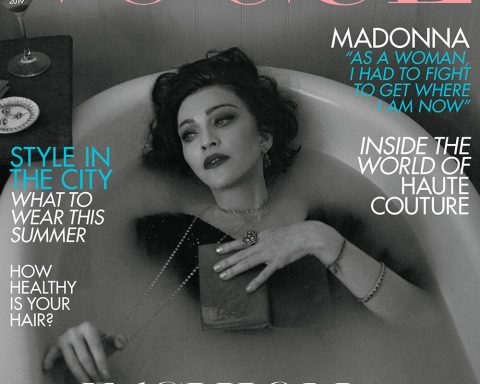 Madonna covers British Vogue June 2019 by Mert & Marcus