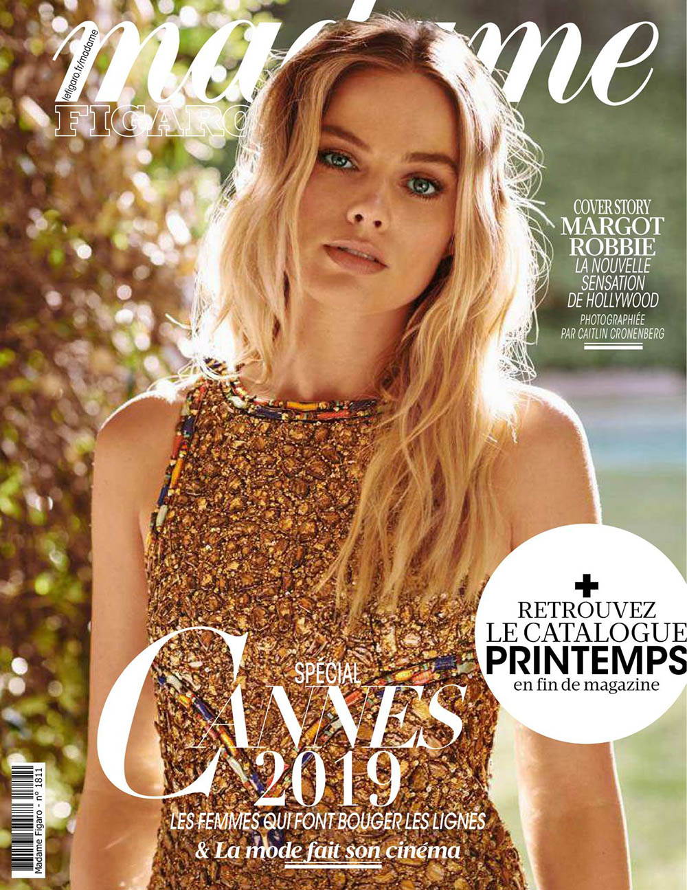Margot Robbie covers Madame Figaro May 10th, 2019 by Caitlin Cronenberg