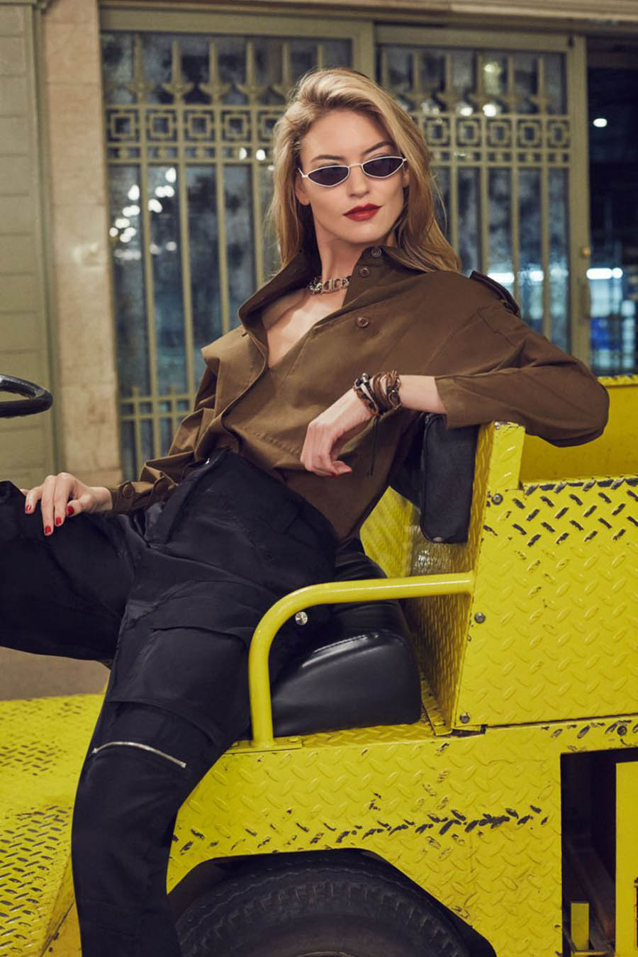 Martha Hunt covers Tatler Russia May 2019 by Aingeru Zorita