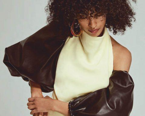 Mical Bockru by Brent Goldsmith for Elle Canada June 2019