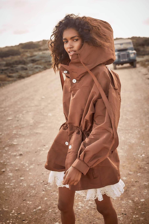 Nadia Araujo by Chloe Mallett for Red Magazine UK May 2019