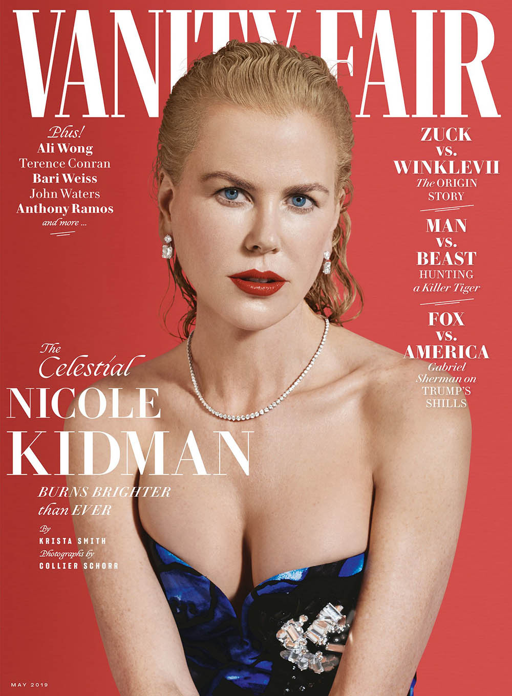 Nicole Kidman covers Vanity Fair May 2019 by Collier Schorr