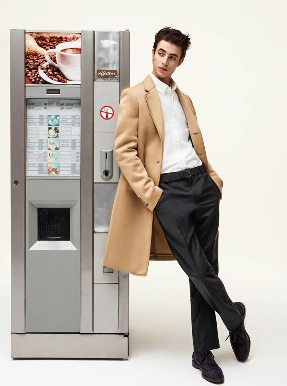 Oscar Kindelan by Kim Reenberg for GQ France May 2019