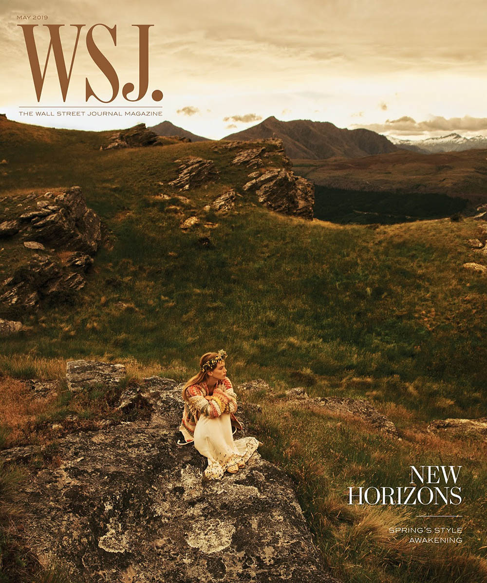 Rebecca Leigh Longendyke covers WSJ. Magazine May 2019 by Lachlan Bailey