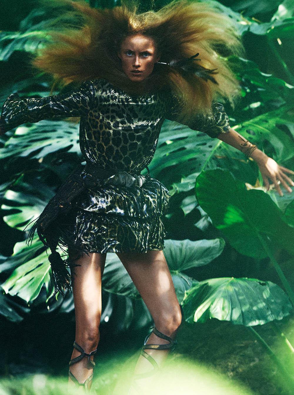 Rianne van Rompaey covers Vogue Paris May 2019 by Mikael Jansson