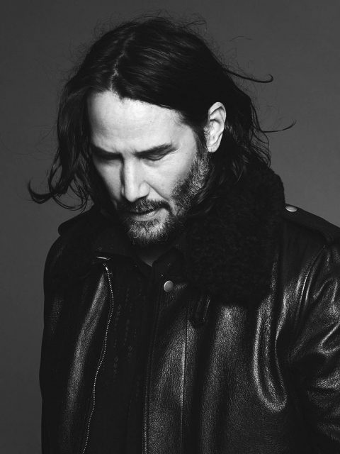 Saint Laurent Men's Fall Winter 2019 Campaign with Keanu Reeves