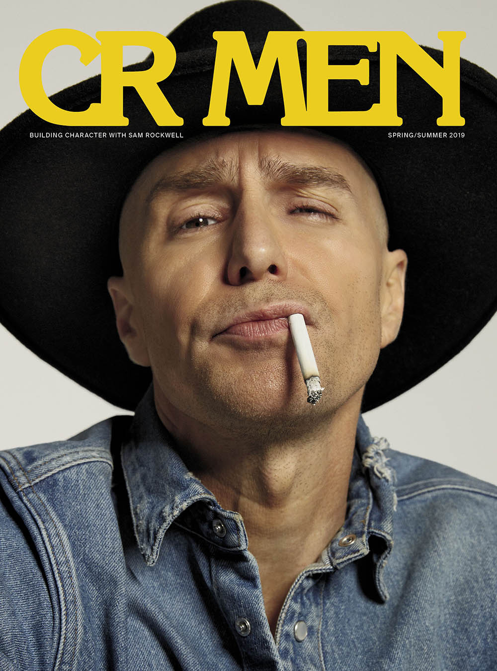 Sam Rockwell covers CR MEN Issue 8 by Roe Ethridge